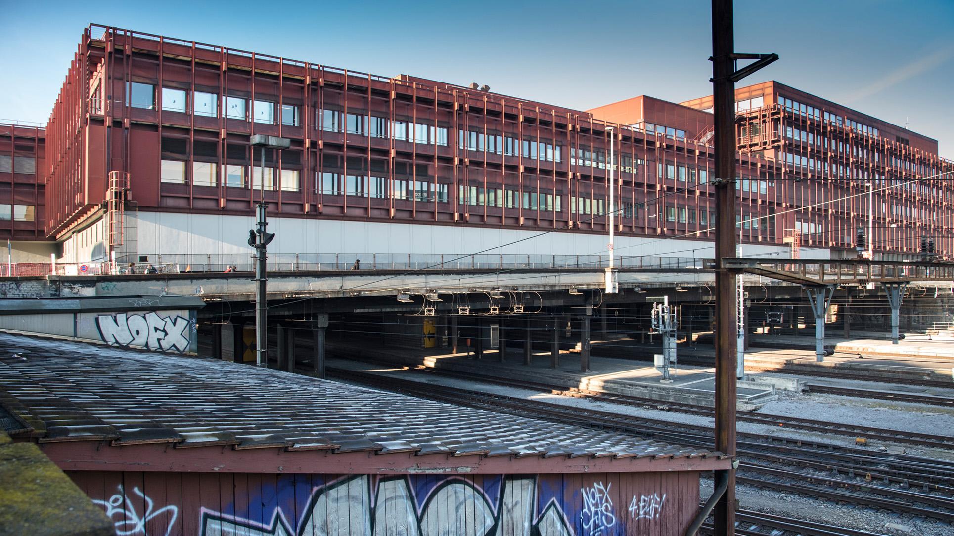 Vom Postreitergebäude sollen nur die Betonplatten erhalten bleiben, worauf das Gebäude steht.