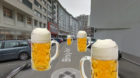 2009 wollten Initianten hier sogar den Birsig wieder sichtbar fliessen lassen. Jetzt gehts eher um Bier.