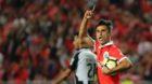 September 8, 2017 - Lisbon, Lisbon, Portugal - Benficas forward Jonas from Brazil celebrating after scoring a goal during the