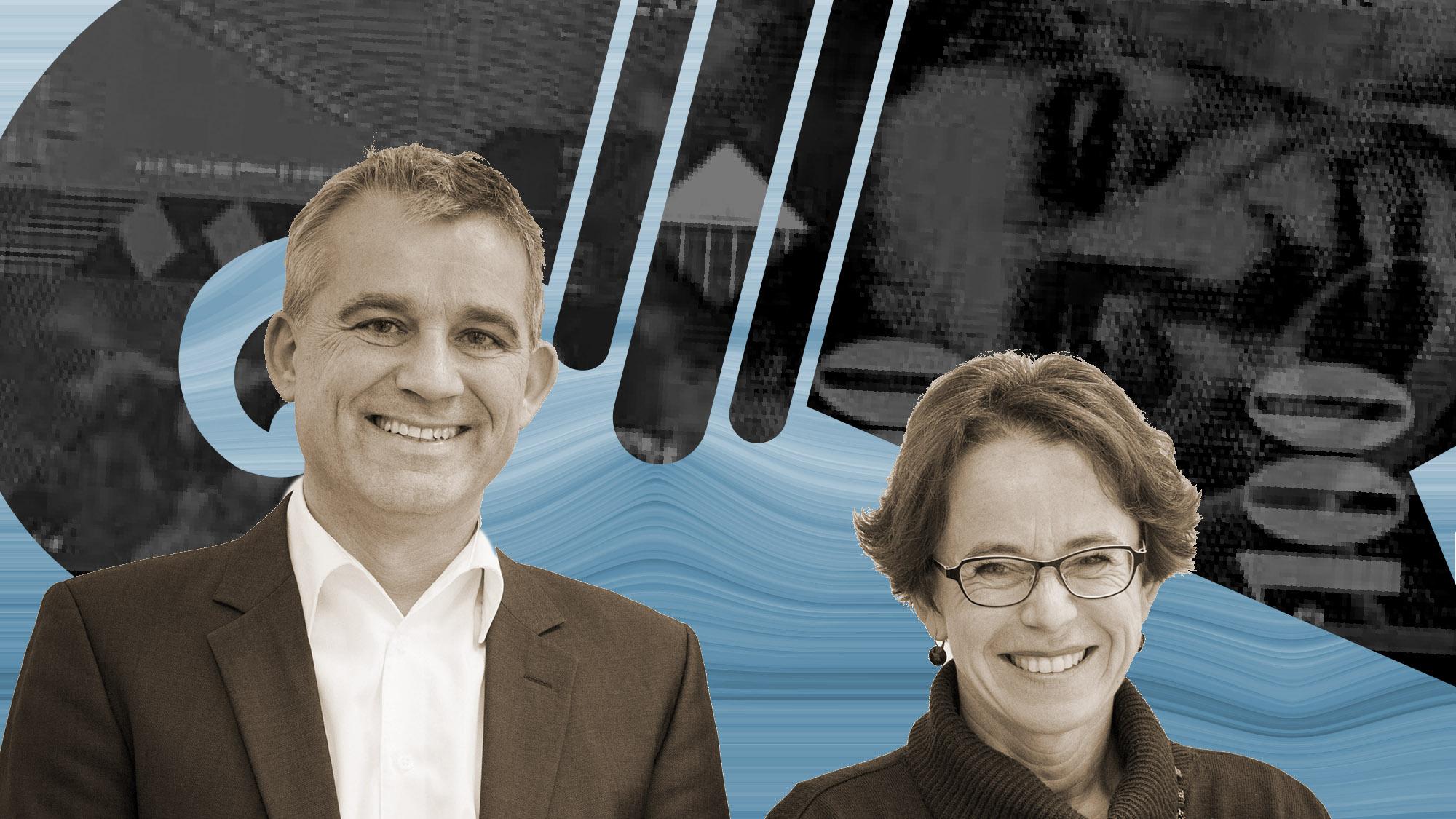 Beat Jans und Eva Herzog: Bei der USR III politische Gegner, jetzt immerhin einigermassen einig.
