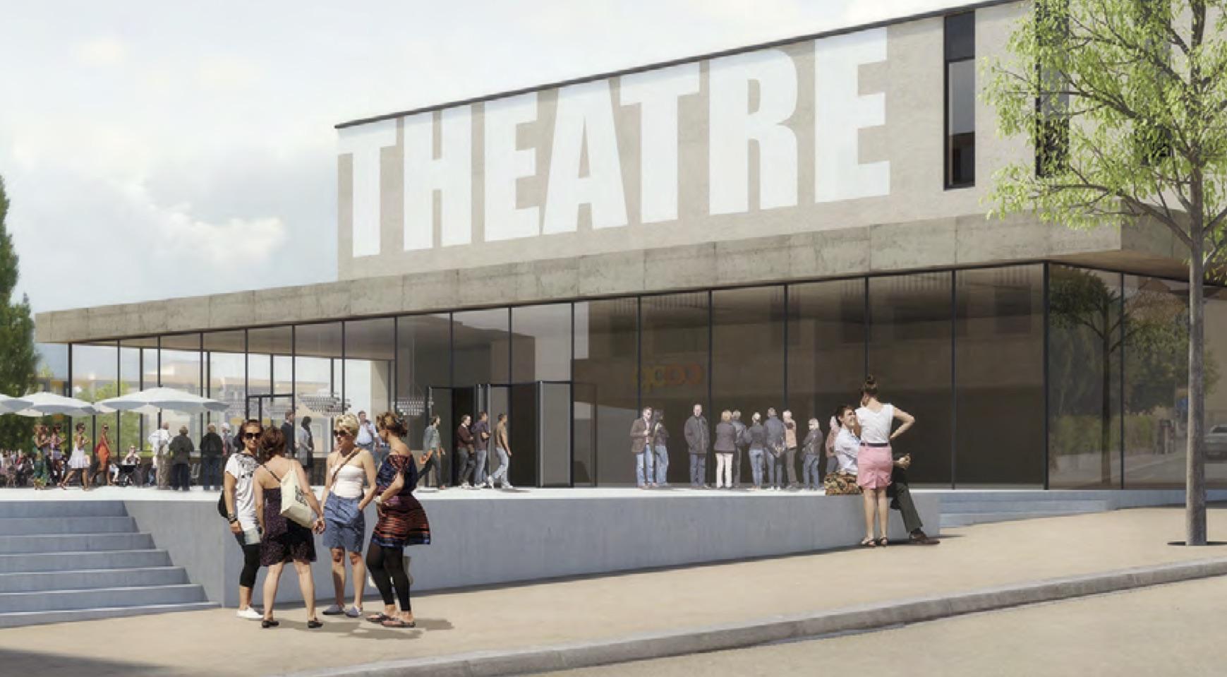 Geld aus Basel für ein neues Theater in Delémont.
