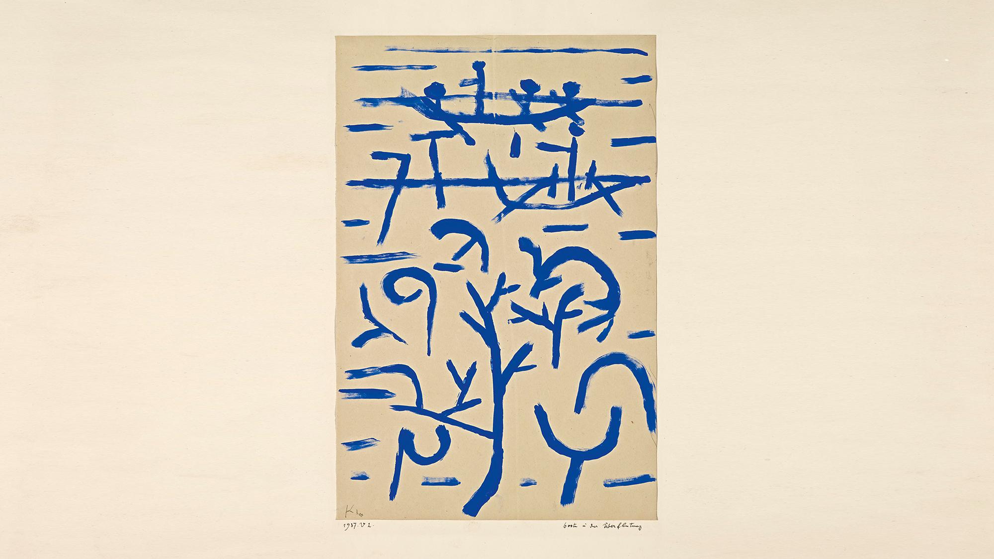 Paul Klee: «Boote in der Überflutung» (1937), Foto: Robert Bayer