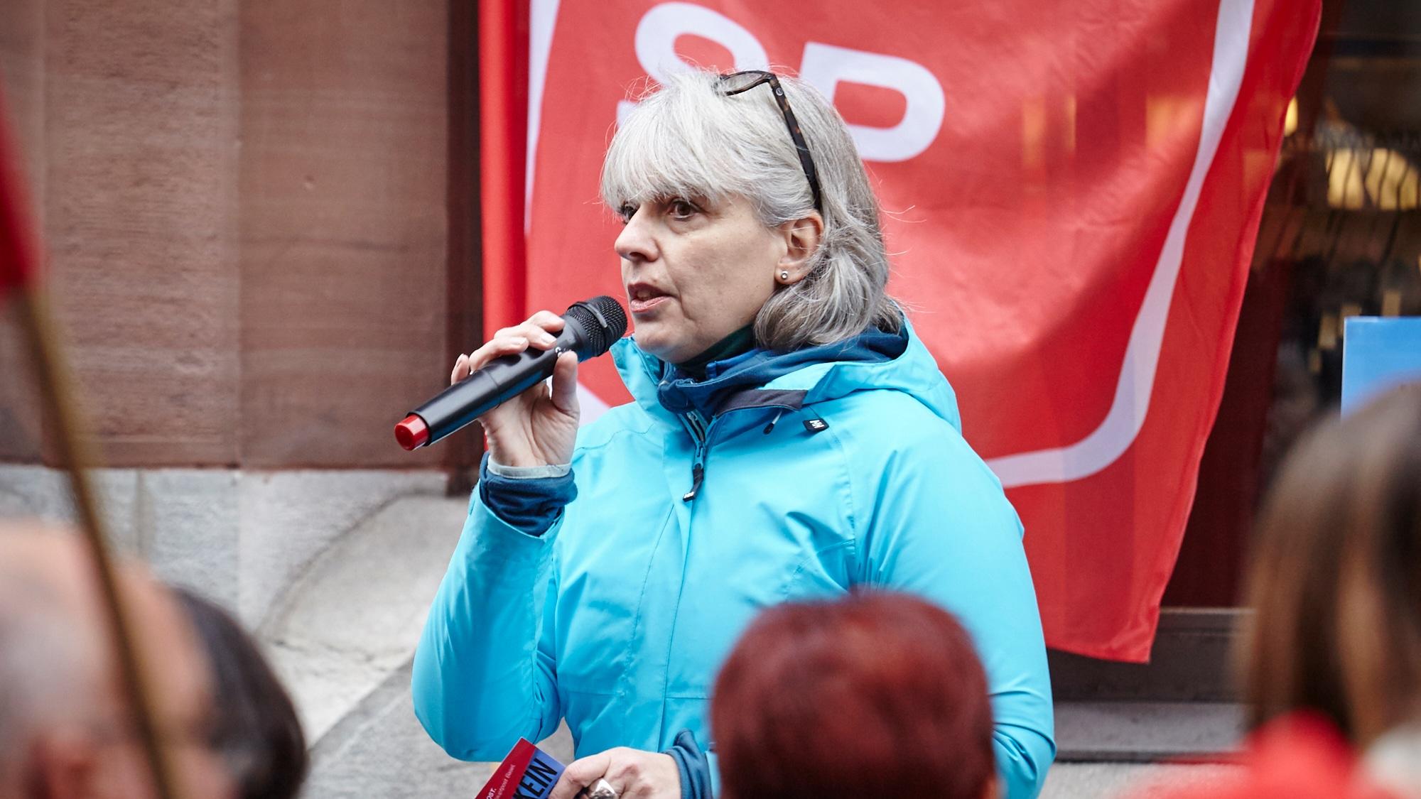 Nicht mehr SP-Chefin und bald auch nicht mehr Grossrätin: Brigitte Hollinger.