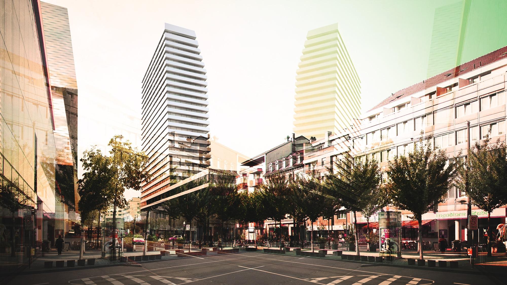 Das Neubauprojekt des Claraturms landet zum zweiten Mal vor dem Bundesgericht.