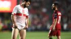 10.10.2017; Lissabon; Fussball WM Qualifikation - Portugal - Schweiz;Admir Mehmedi (SUI) enttaeuscht (Urs Lindt/freshfocus)