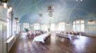 Ambiente vergangener Zeiten: der Speisesaal des Kurhotels.