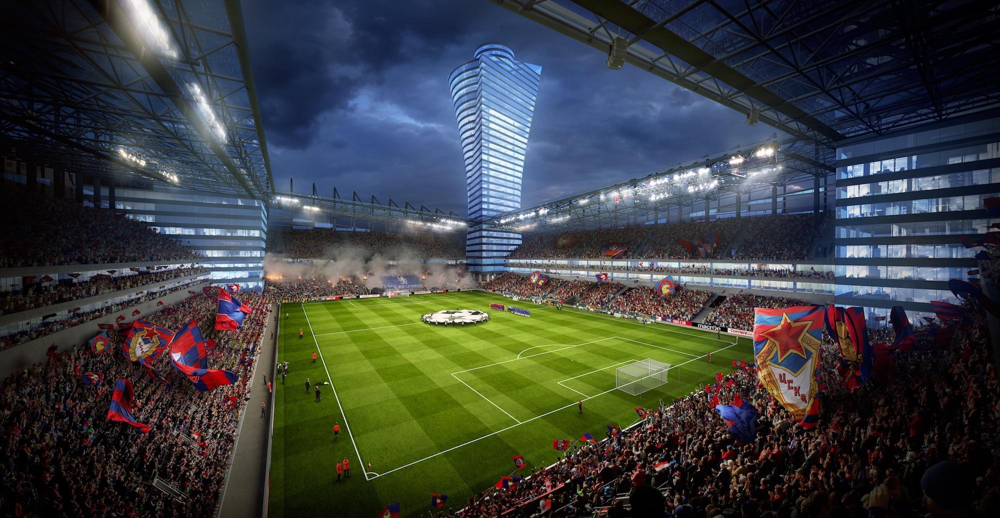 Über 300 Millionen Euro teuer und ein Klotz am Bein von ZSKA Moskau: die nach der Bank für Aussenhandel benannte VEB-Arena.