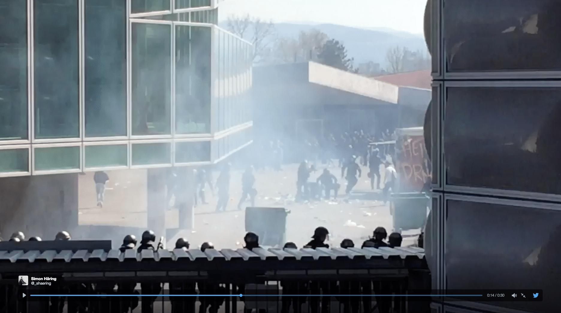 In Basel-Stadt sind 16 Personen wegen der Ausschreitungen angeklagt.