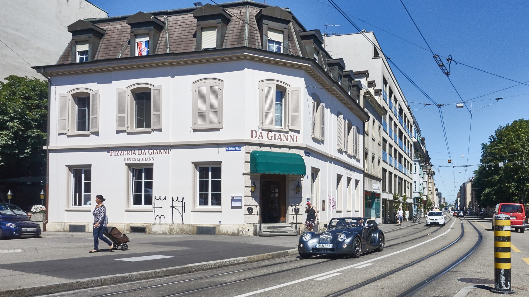 Bleibt dem St. Johann erhalten: Das Restaurant Da Gianni an der Elsässerstrasse 1.