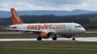 Ein Flugzeug der Fluggessellschaft Easy Jet auf dem Rollfeld des Flughafens Basel-Mulhouse-Freiburg am Dienstag, 9. April 201
