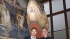 Freuen sich auf ihre neue Aufgabe: David Alder (l.) und Basil Thüring zu Co-Direktoren des Naturhistorischen Museums Basel e