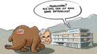 So sieht unser Karikaturist Tom Künzli den BaZ-Deal im Bündnerland.
