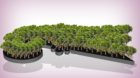 1000 neue Basler Bäume im Jahr fordern die Grünen. Das ist eine ganze Menge, auf der Grafik hatten bloss 100 Platz.