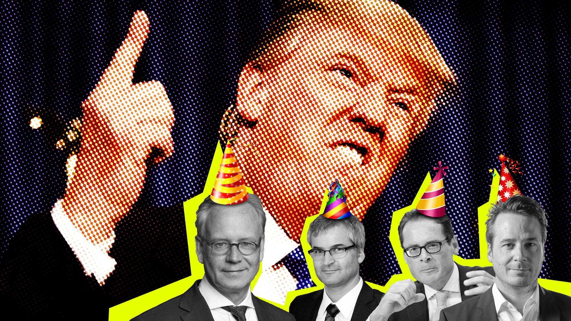 Die TagesWoche hat zum Trump-Wahl-Jubiläum gleich vier ausgewiesene Experten am Start.