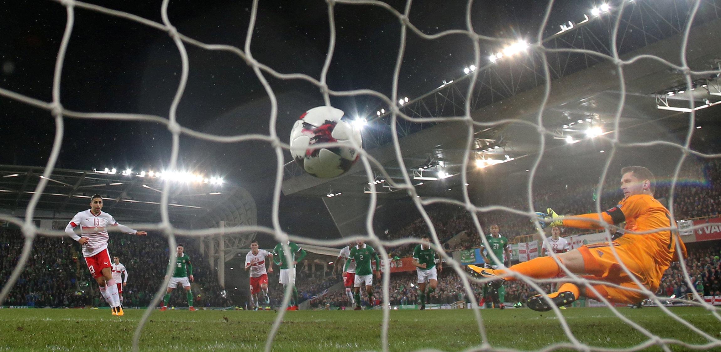 Soccer Football - 2018 World Cup Qualifications - Europe - Northern Ireland vs Switzerland - National Stadium, Belfast, Brita