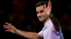 Tennis - ATP World Tour Finals - The O2 Arena, London, Britain - November 14, 2017   Switzerland's Roger Federer waves to the