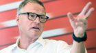 Andreas Meyer, CEO SBB, spricht waehrend der Medienkonferenz ueber die Angebotsverbesserungen durch den Gotthard-Basistunnel