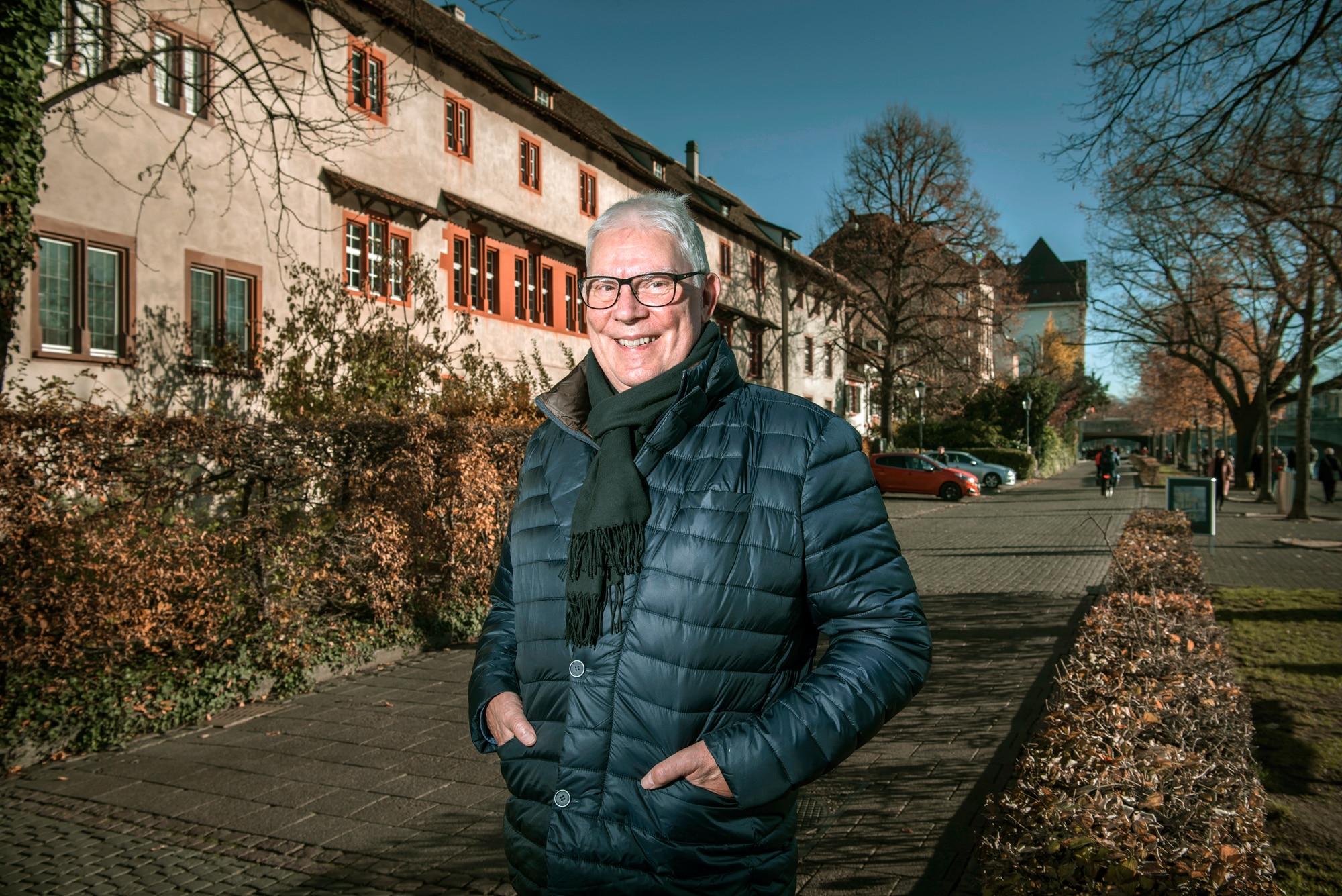 Seit 24 Jahren am Unteren Rheinweg wohnhaft und neuerdings Präsident des Vereins Rheinpromenade: André Stohler.