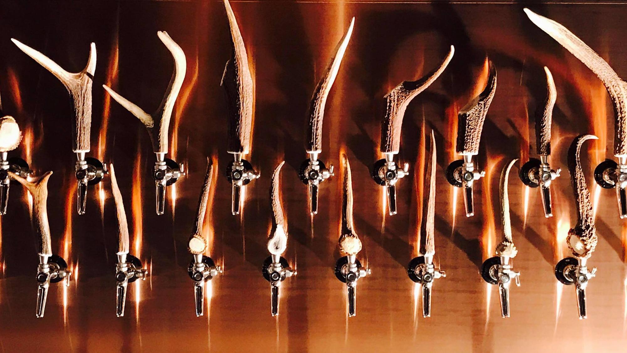 Im «Bierjohann» gibts schon viele Zapfhähne. Aber im «Bierrevier» wirds nahezu unüberschaubar.