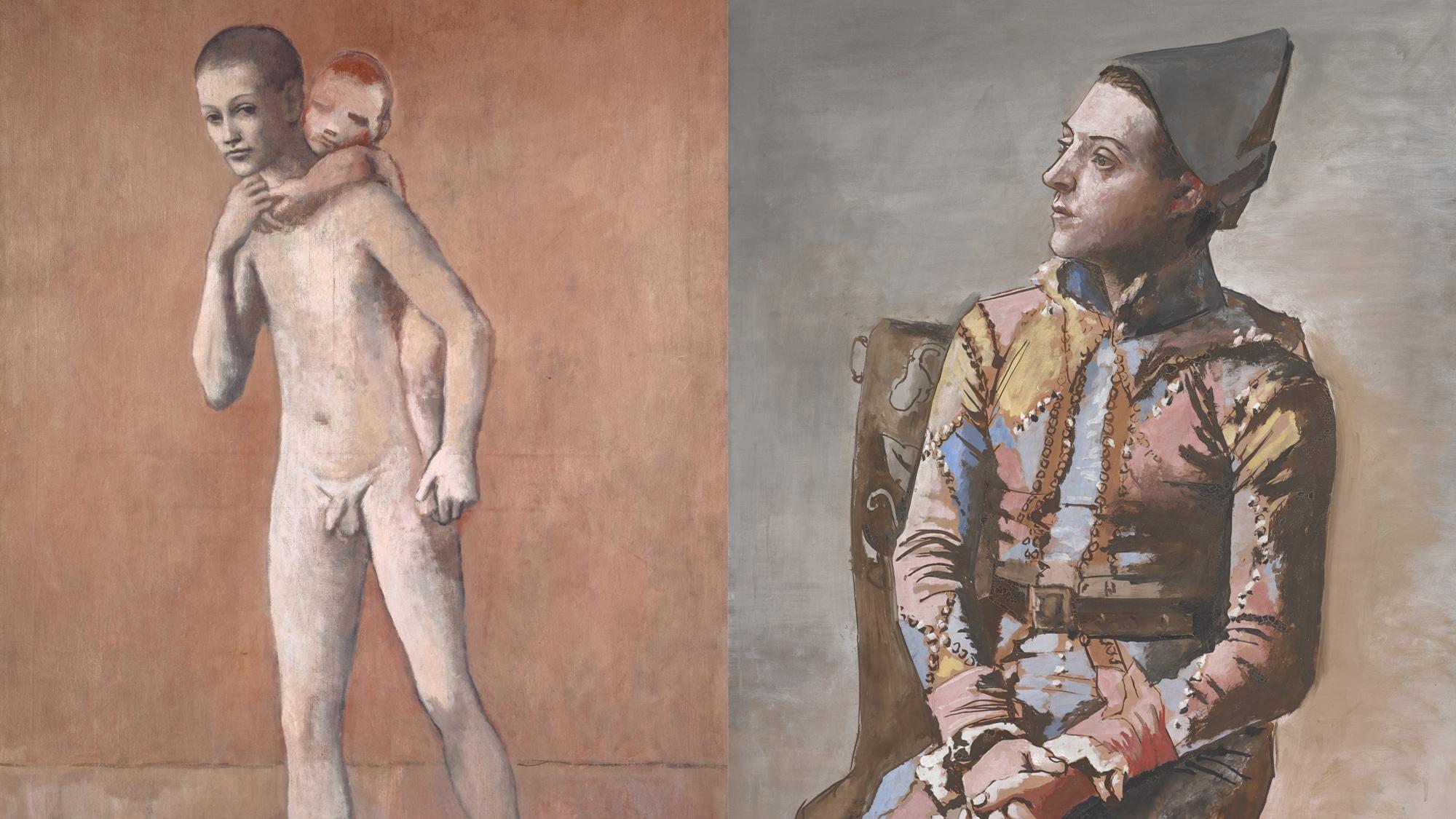 Zwei Picassos, die in Basel zu Kultwerken wurden: «Les deux frères» und  «Arlequin assis».