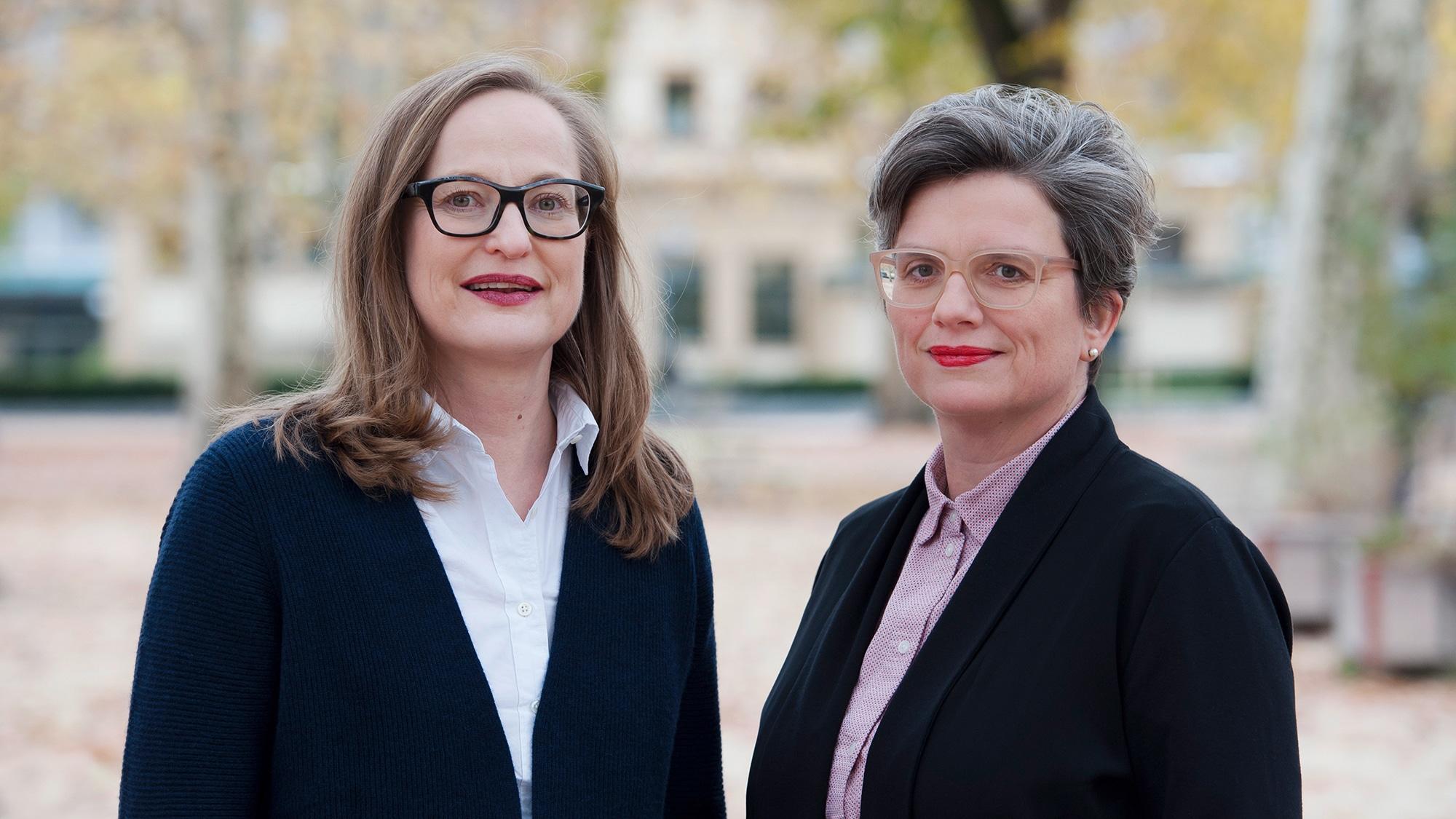 Sonja Kuhn (l.) und Katrin Grögel.