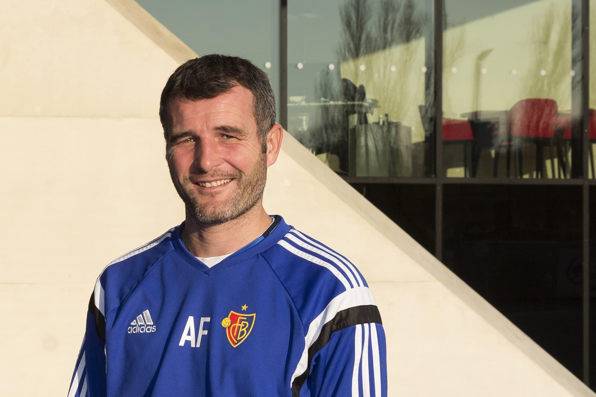 Auf dem Nachwuchscampus des FC Basel: Hier trainiert Alex Frei die U18.