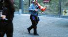 Urs Marti hat sich ab den Neunzigerjahren als Ausrufer in ganz Basel einen Namen gemacht: «Megafon-Urs».