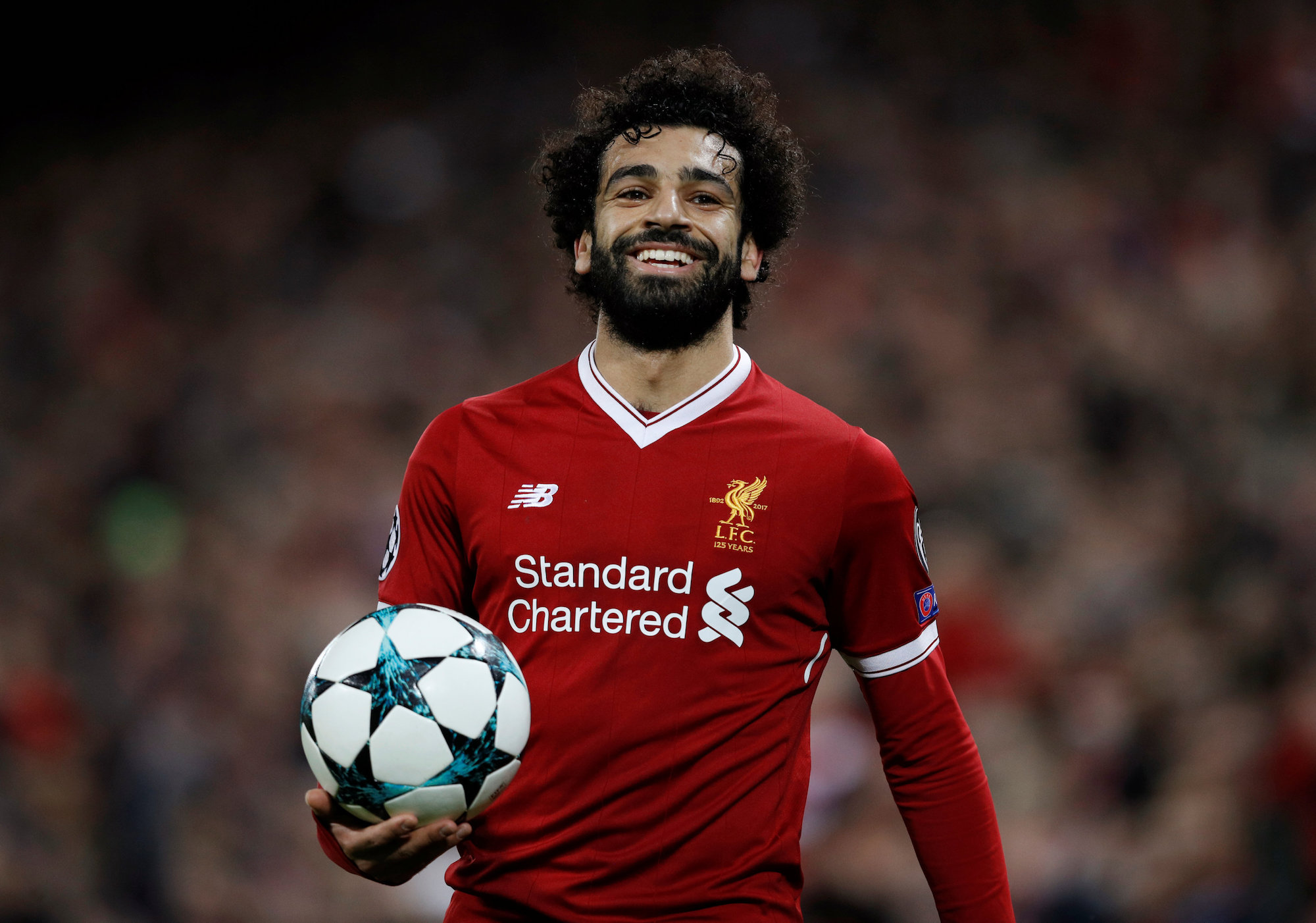 Soccer Football - Champions League - Liverpool vs Spartak Moscow - Anfield, Liverpool, Britain - December 6, 2017   Liverpool