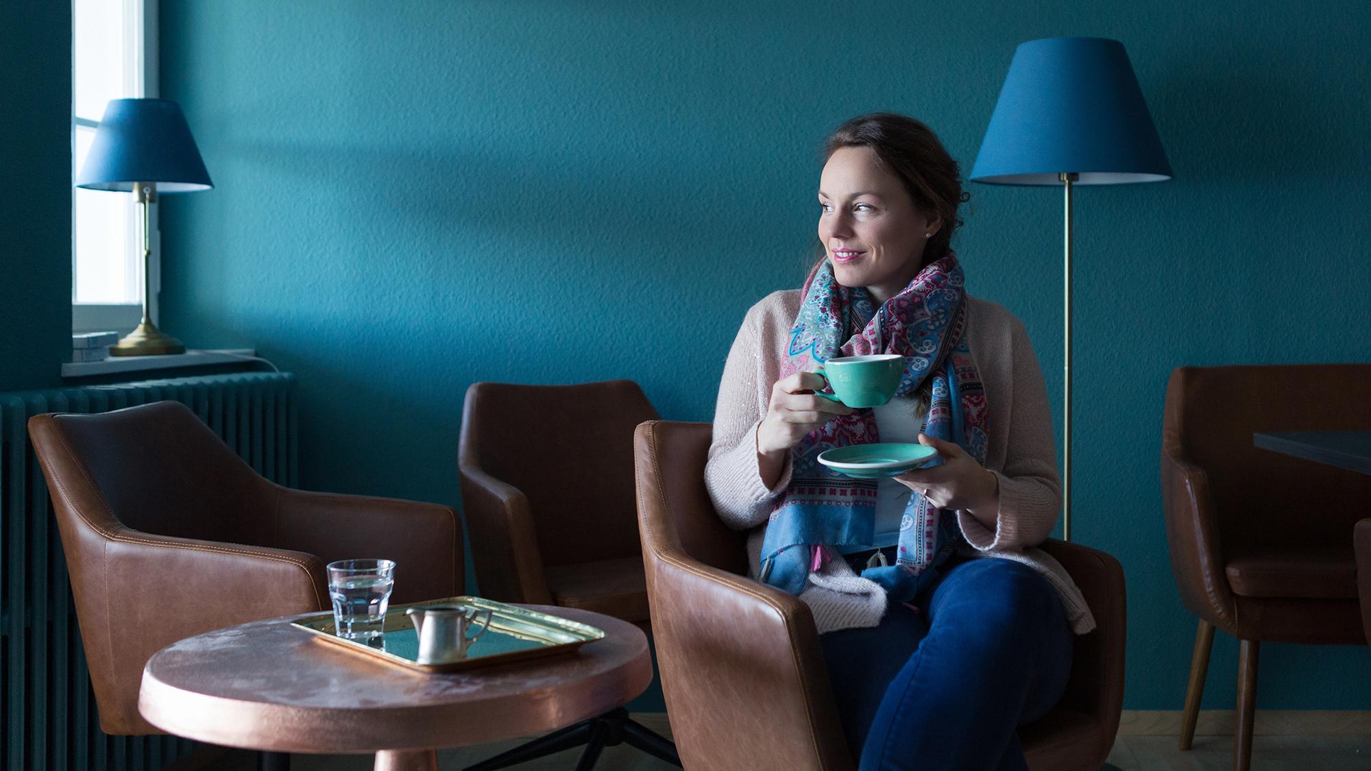 Sylvia Vonlanthen verspricht hohe Kaffeekultur, die jedem schmeckt.