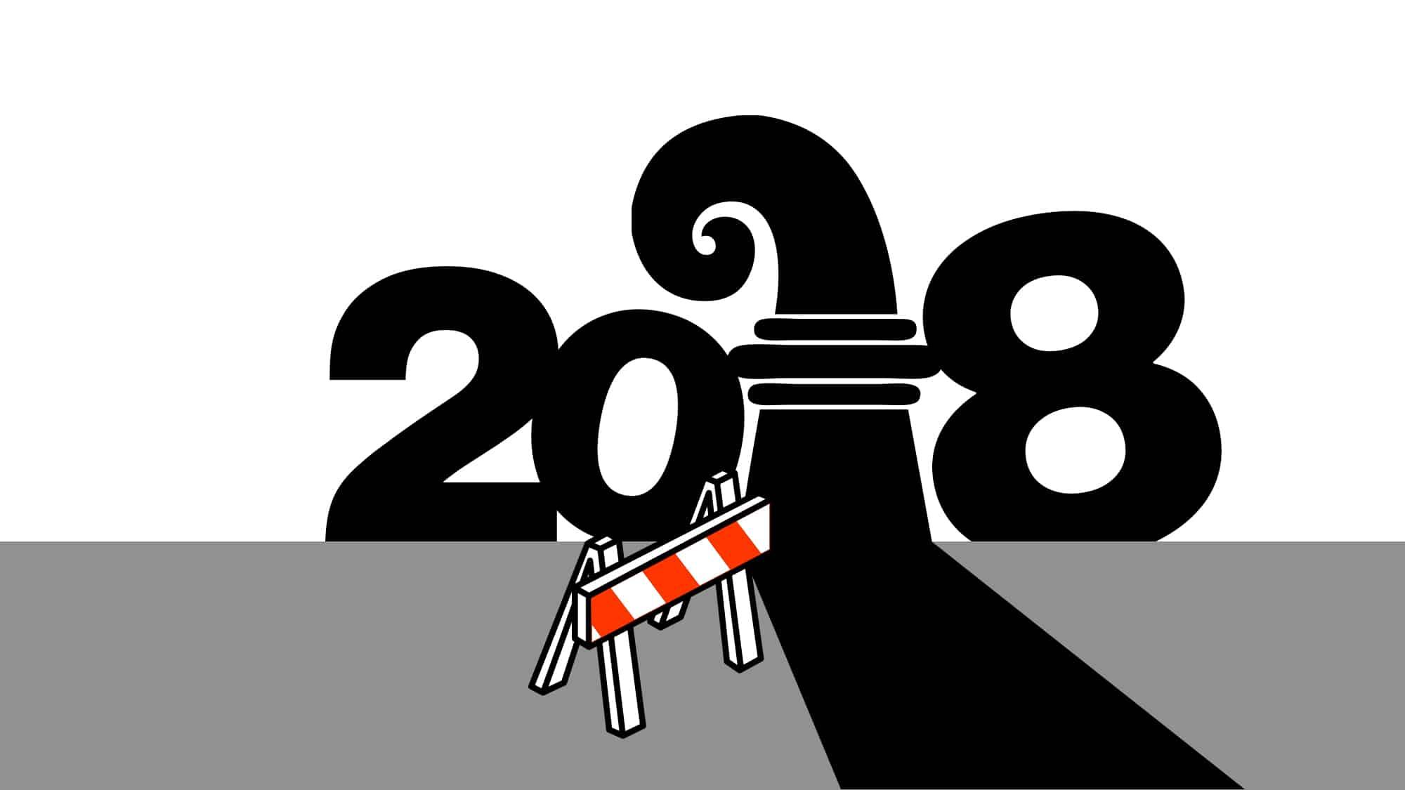 Auch 2018 wird für Basel ein intensives Baustellen-Jahr.