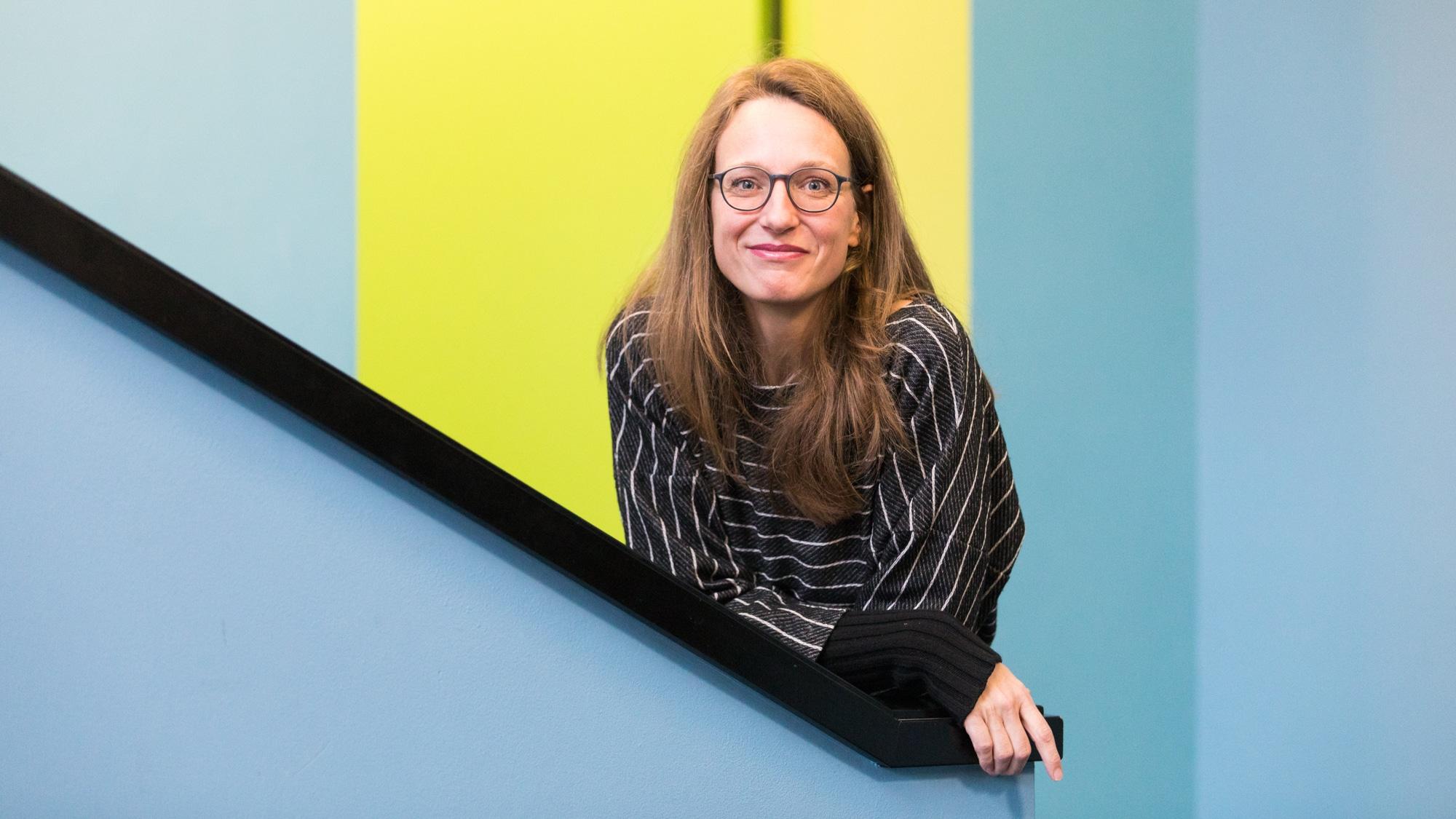 Die Regisseurin Steffi Giaracuni arbeitet unter anderem im Stadtkino Basel.