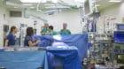An der Türöffnung am Samstag gab es OP-Vorführungen mit dem medizinischen Personal.