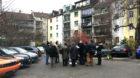 Soll laut der Anwohnerschaft nicht überbaut werden: Der Innenhof am Riehenring 3.