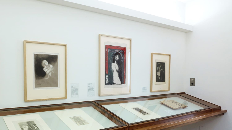 Ende 2016 war Munchs «Madonna» (Mitte) im Kunstmuseum Basel  letztmals zu sehen.