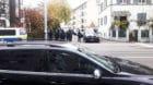 Die Basler Polizei bei der Räumung an der Gärtnerstrasse 112.