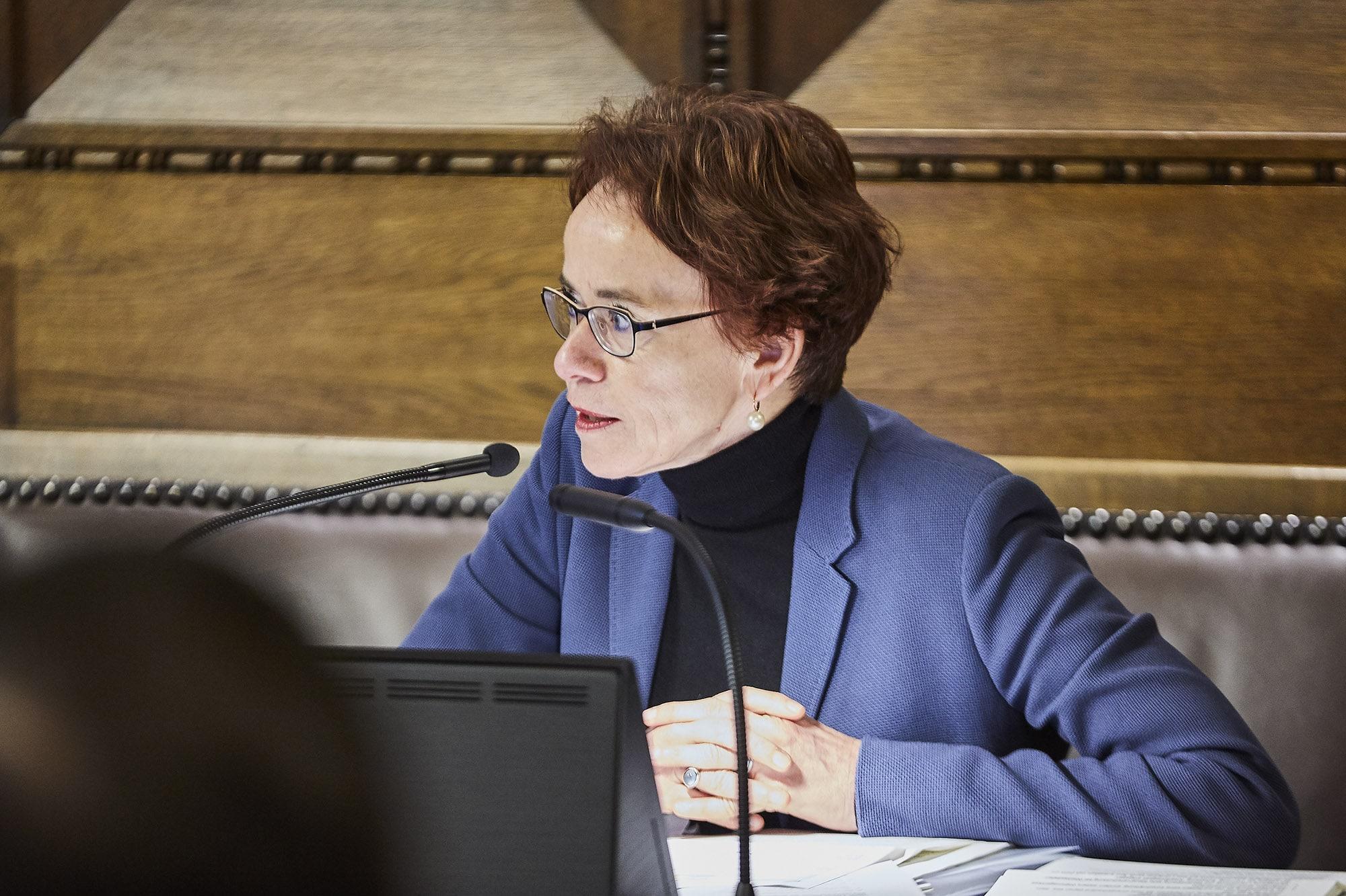 Eva Herzog findet die jetzige Reform besser als die Unternehmenssteuerreform III – wenn sie denn so bleibt.