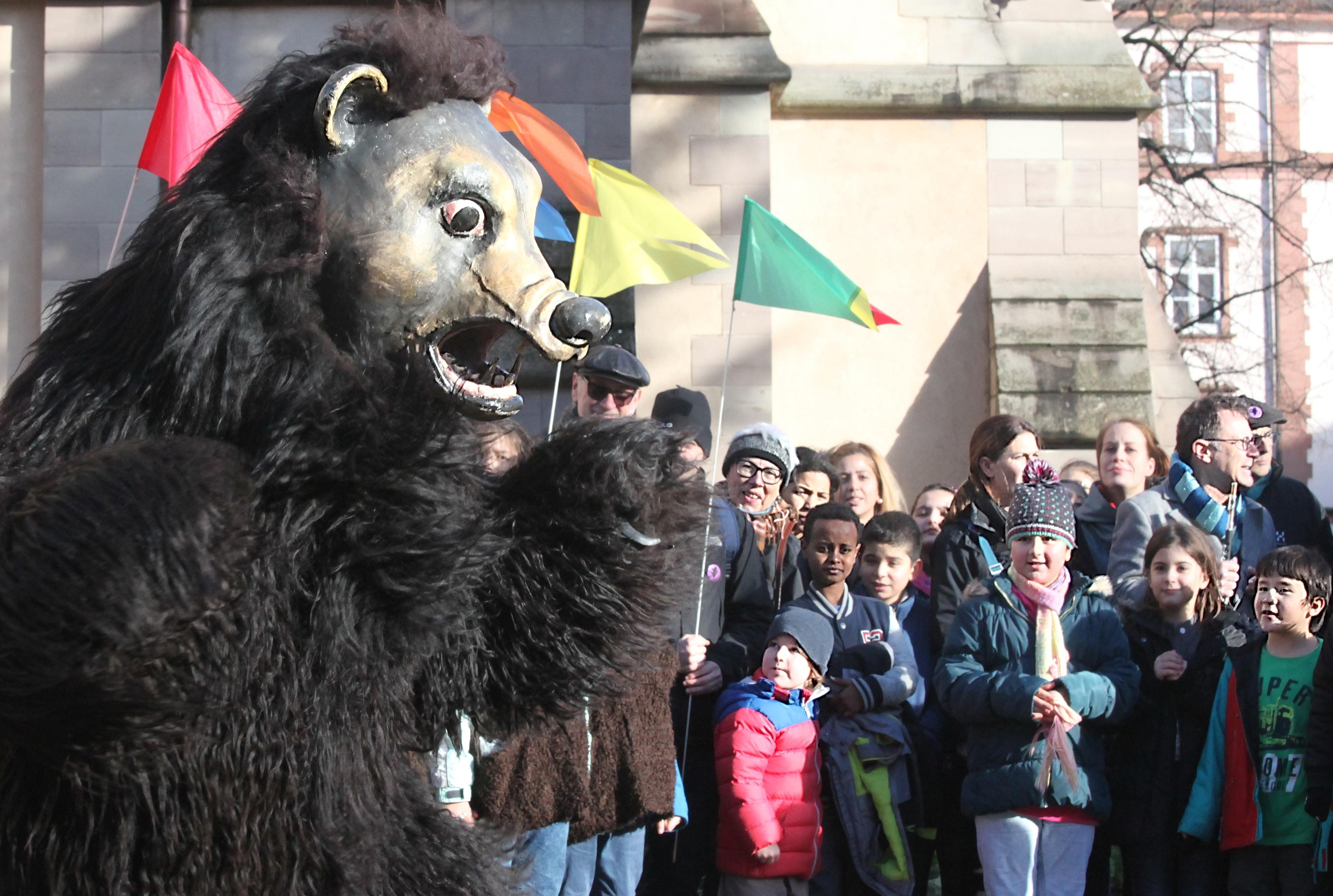 Zum 20. Mal tanzt der Bär durchs Kleinbasel.
