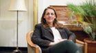 Die Schweizer Politikerin (SP) Jacqueline Badran im Rialto in Basel.
