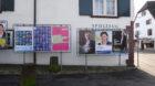 Die Wahlplakate muss man in Riehen fast suchen.