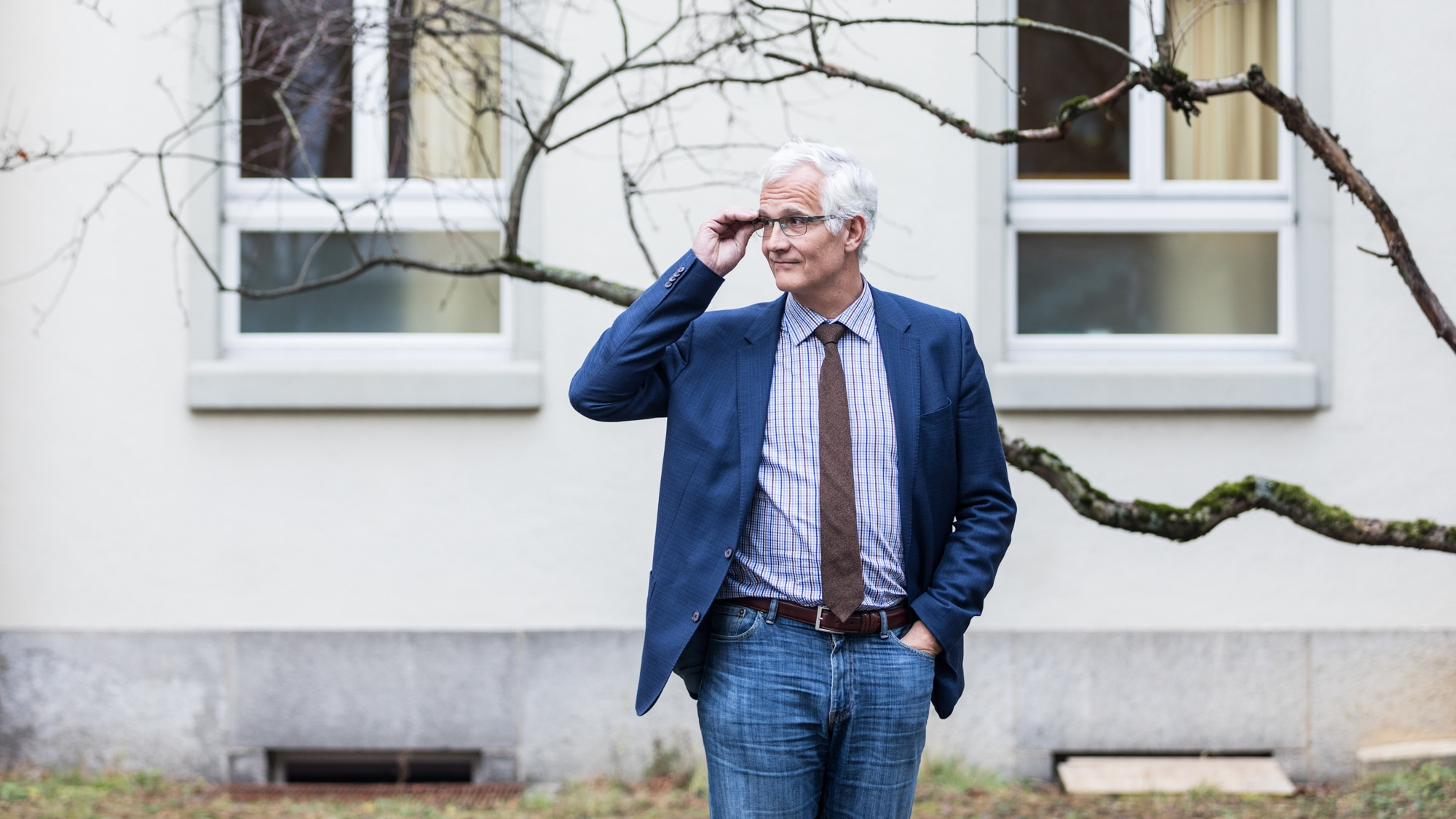 Der Forensiker Marc Graf in den Universitären Psychiatrischen Kliniken Basel.