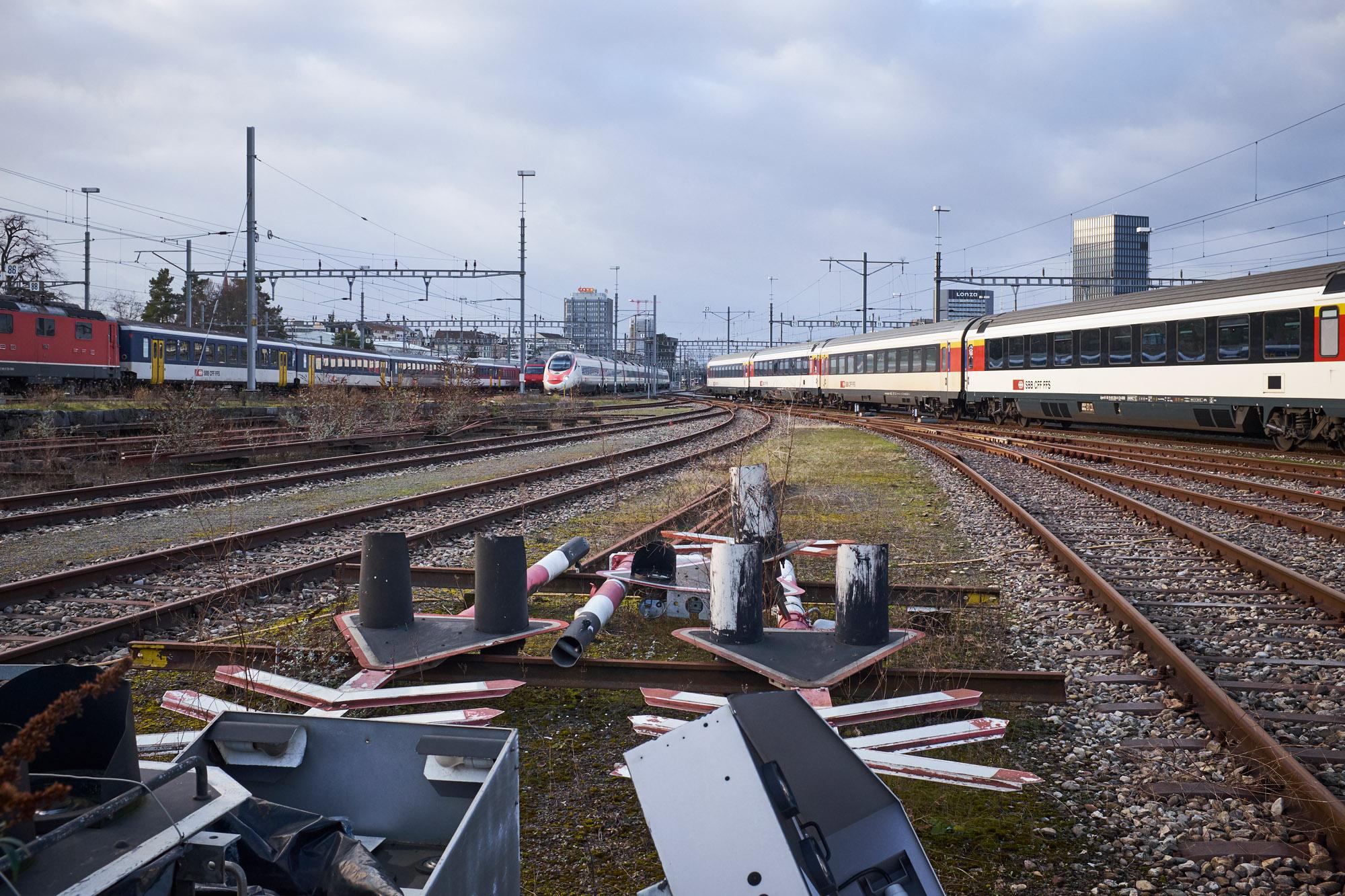 Güterbahnhof Wolf: Auch hier soll es Wohnungen statt Waggons für Basel-Stadt auf SBB-Areal.