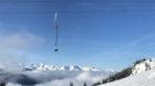 Es hat noch Platz: Bergpanorama beim Albeina-Skilift auf der Madrisa.