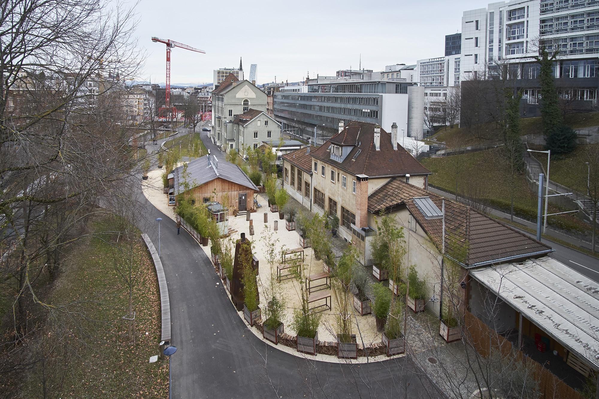 Alles nochmal von vorne: Der Kuppel-Neubau beim Nachtigallenwäldeli wird neu ausgeschrieben.
