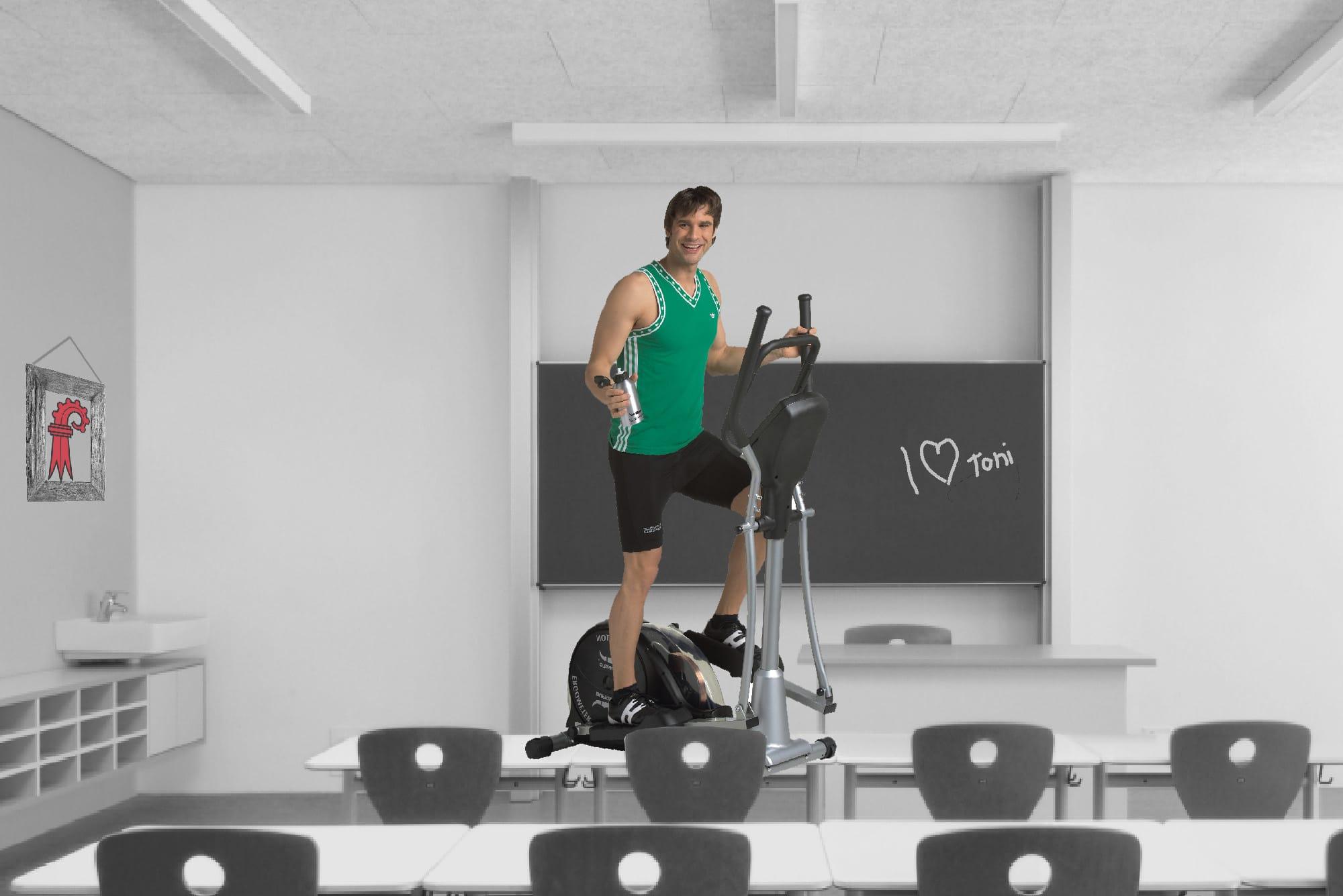 Fit machen fürs Kantonsbudget: Der Baselbieter Finanzdirektor hat sportliche Ideen für Lehrerinnen und Lehrer.