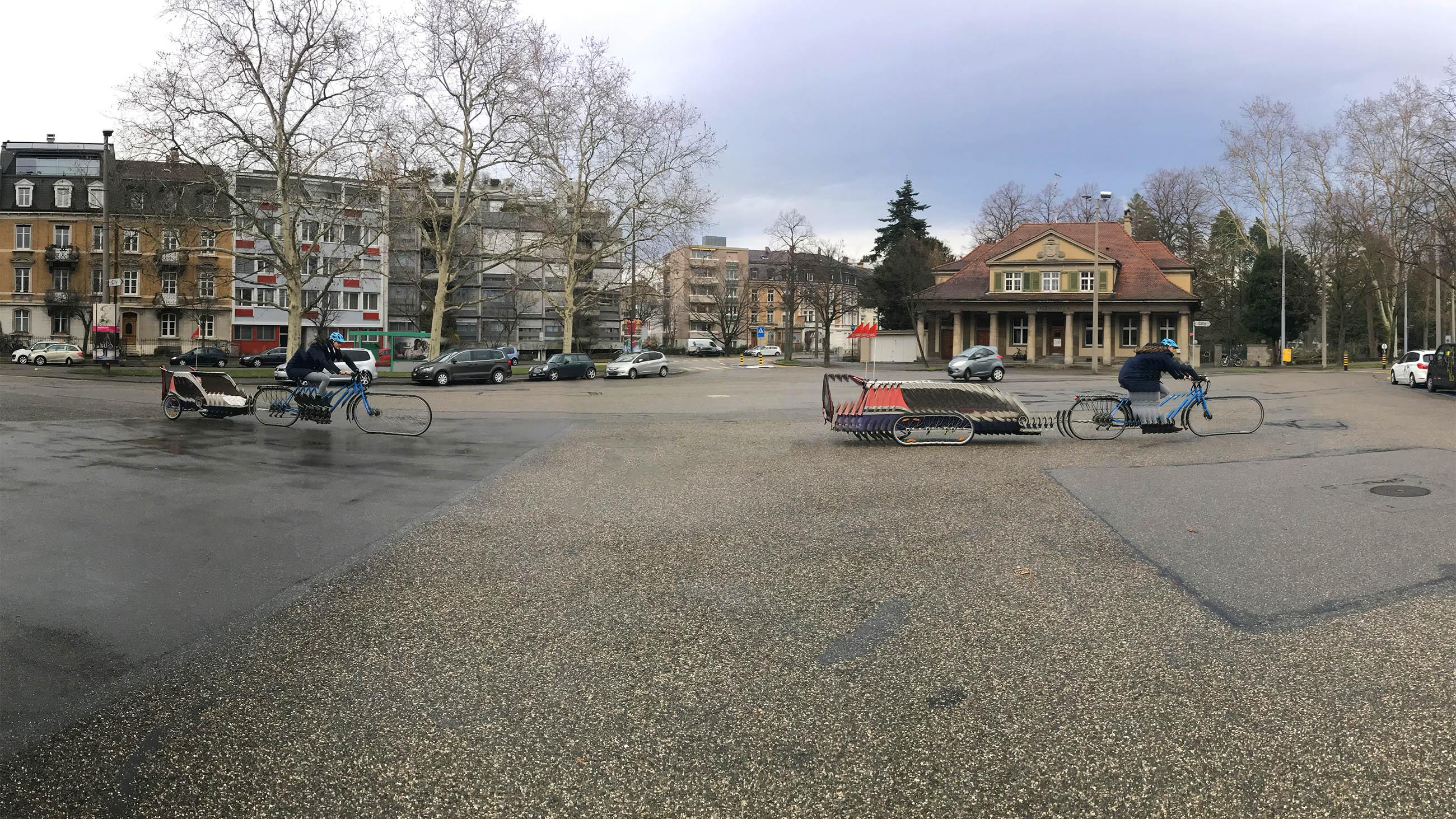 Der Wielandplatz ist sichtlich in die Jahre gekommen.