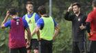 25.06.2017; Rottach-Egern; FUSSBALL SUPER LEAGUE - FC Basel Trainingslager - Training; Ricky van Wolfswinkel (Basel) Trainer