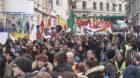 Grösste Kundgebung seit Jahren: Kurden protestieren in Basel gegen den türkischen Präsidenten Erdogan.