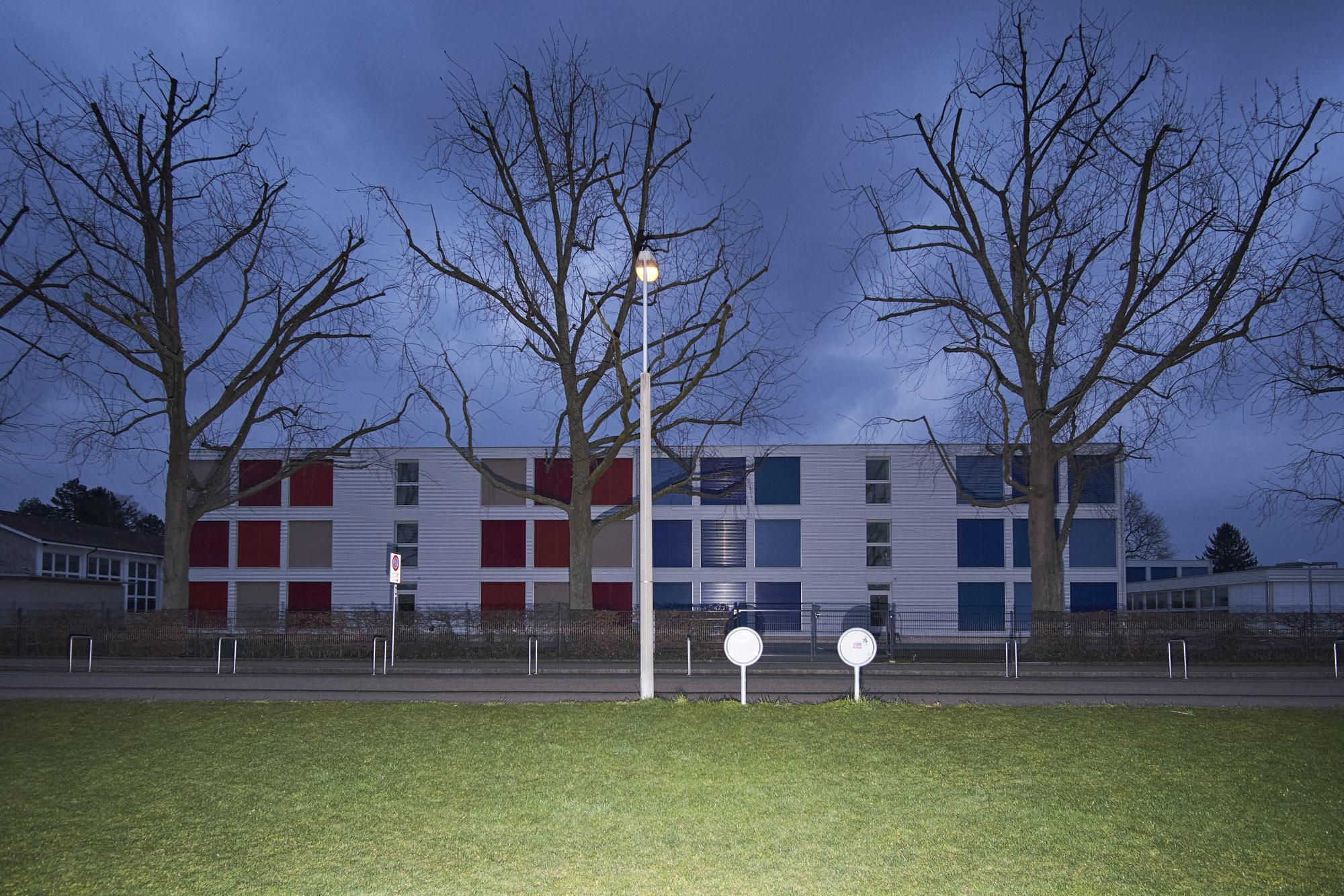 Fehlt es in Basel an Schulraum, kommen die mobilen Container zum Einsatz.