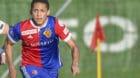 17.01.2018; Jerez; Fussball Super League - Trainingslager FC Basel; FC Basel - Viktoria Plzen; Radim Reznik (Pilsen) Noah Ok