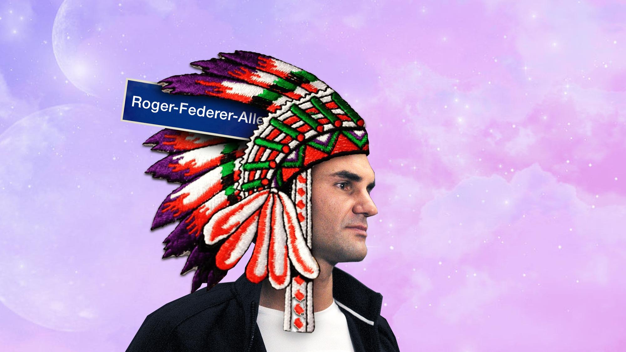Pressekonferenz mit Roger Federer beim Swiss Indoors Tennisturnier in der St. Jakobshalle in Basel, am Dienstag, 21. Oktober